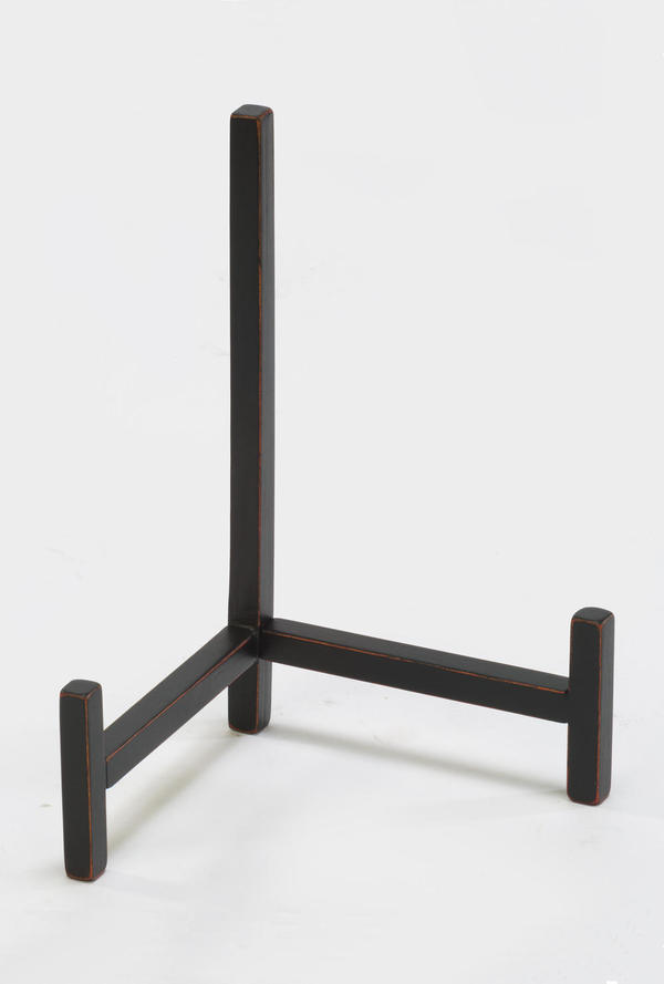 3-Leg Wooden Easel - Black