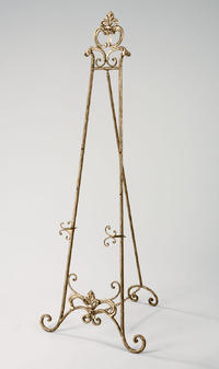 Antique Bronze Floor Easel  (Easels (Floor))