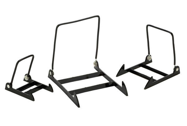 Adjustable Black Acrylic Wire Display Stands