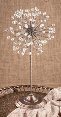 Decorative Table Top Starburst    (Home Accents & Candle)