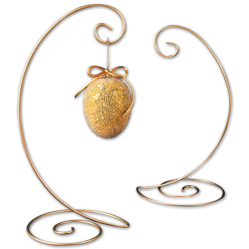 Gold Spiral Ornament Tree (Ornament Stands)