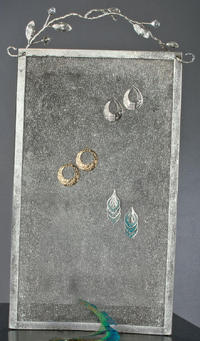 Mesh Earring Wall Display (Jewelry Displays)