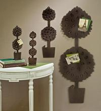 Topiary Card/Photo Holders  (Wall Decor)