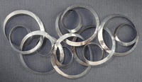 Modern Rings Wall Art  (Wall Decor)