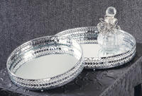 Nickel Plated Mirror Trays  (Jewelry Displays)