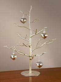 Ornament Tree - Antique Silver (Jewelry Displays)