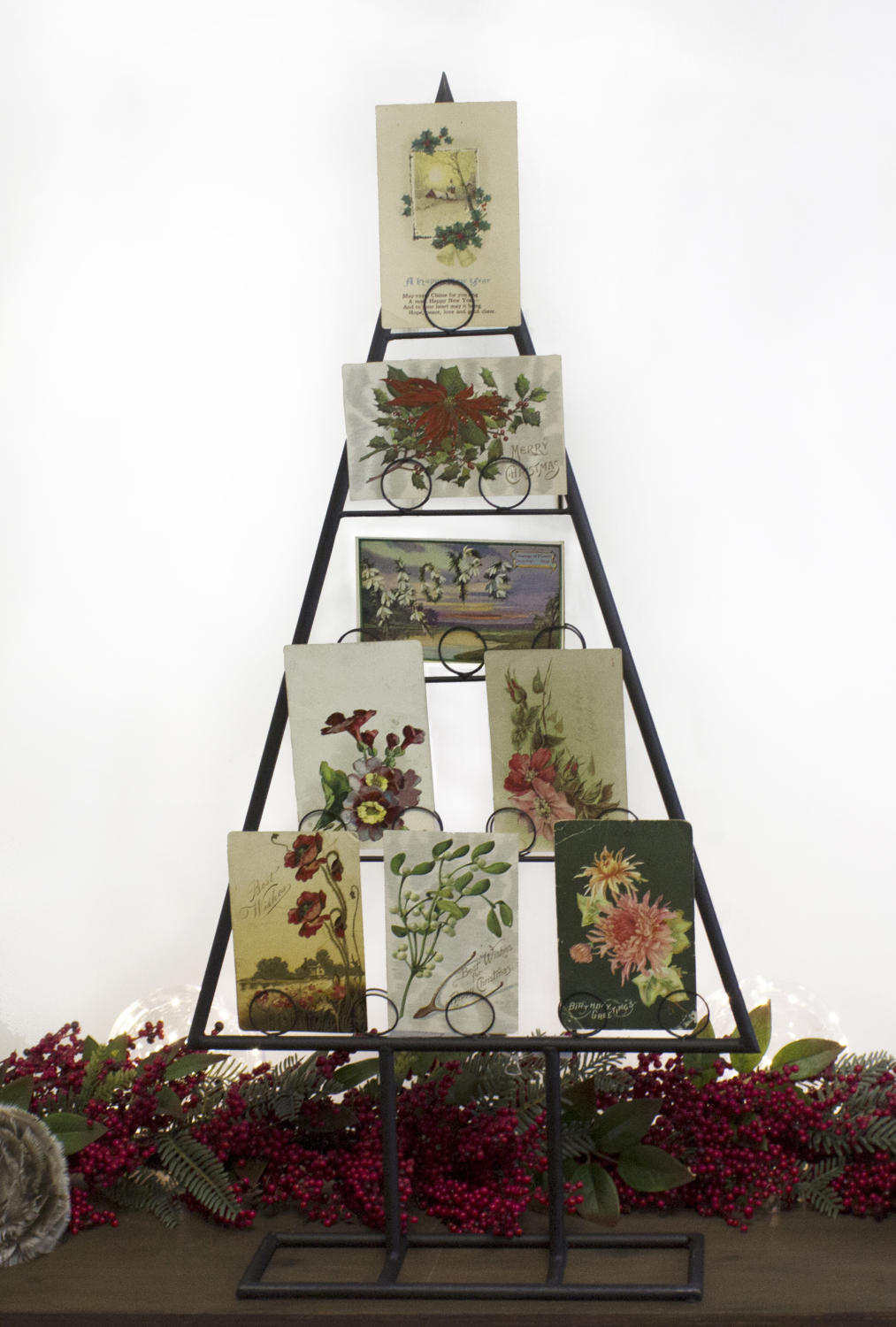 Tabletop Tree Card & Photo Holder, Set of 2 (Card Holders & Signs)