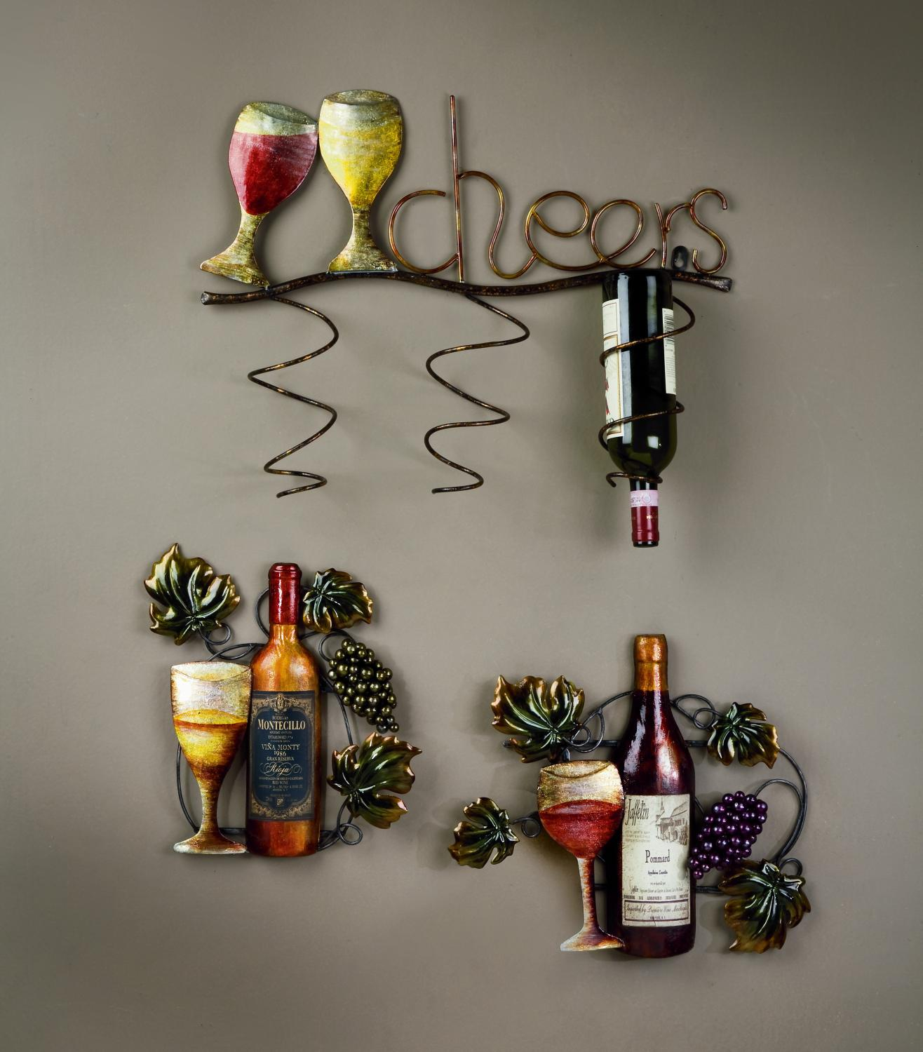 Wine Wall Decor Wine Accessories