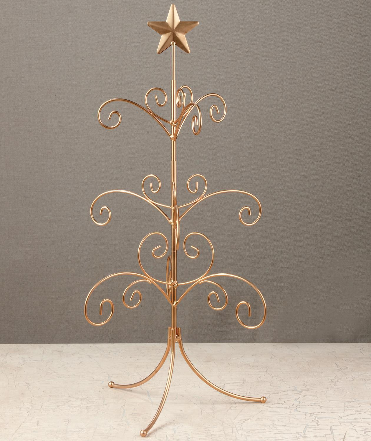 Metal Tabletop Christmas Tree: Tripar International, Inc
