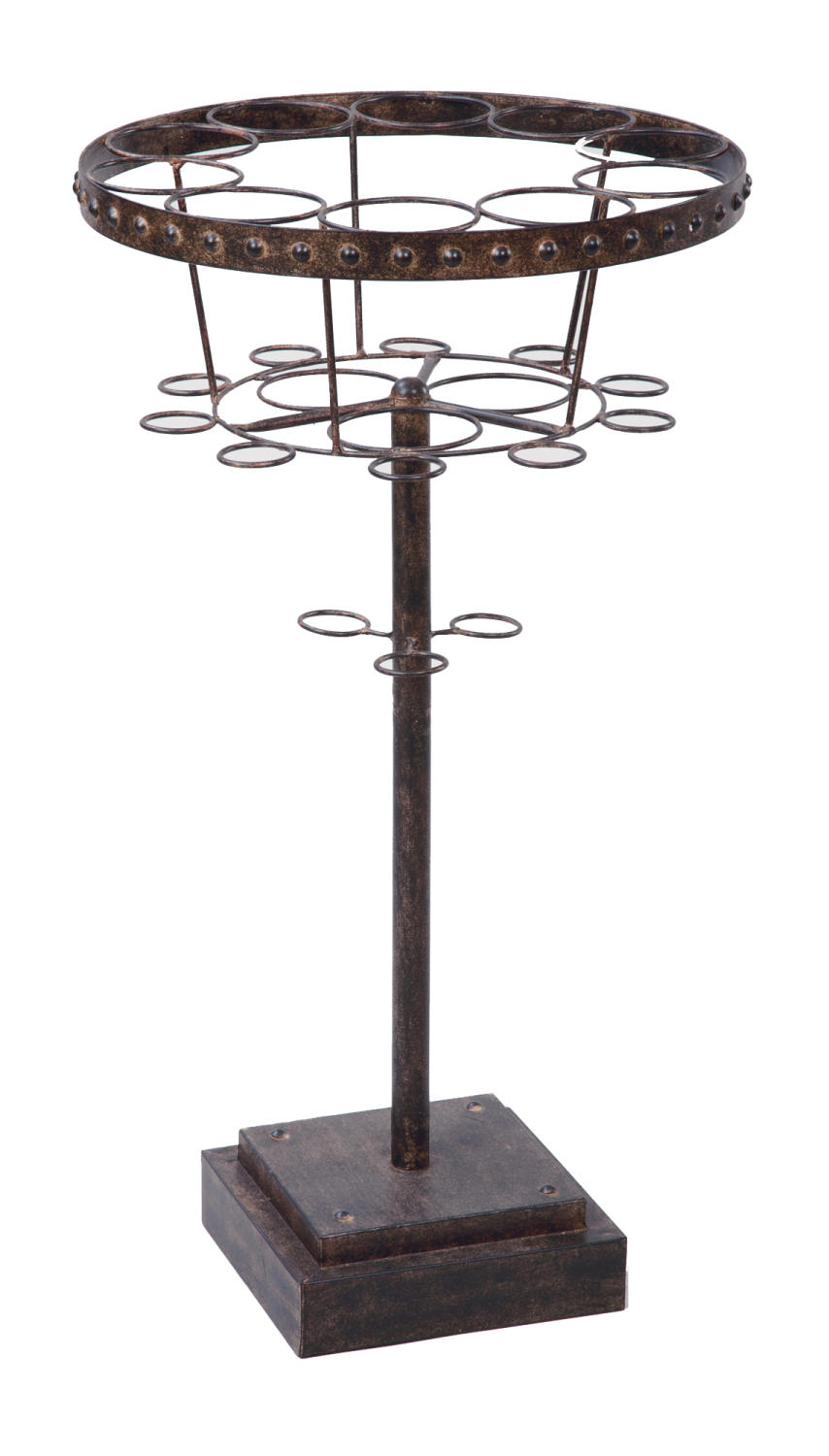 13-Place Wine Bottle Stand  (Wine Accessories)