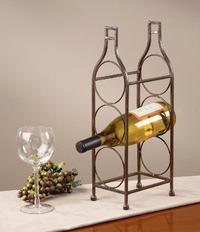 3 Place Wine Bottle Rack  (Wine Accessories)