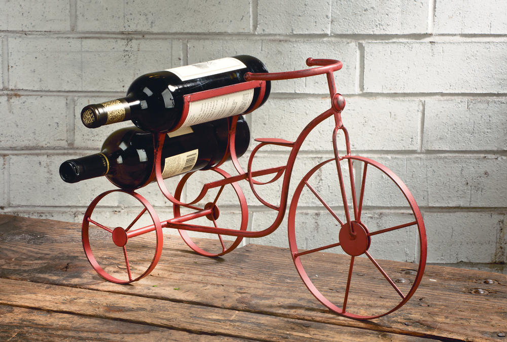 Bicycle Wine Bottle Holder   (Wine Accessories)