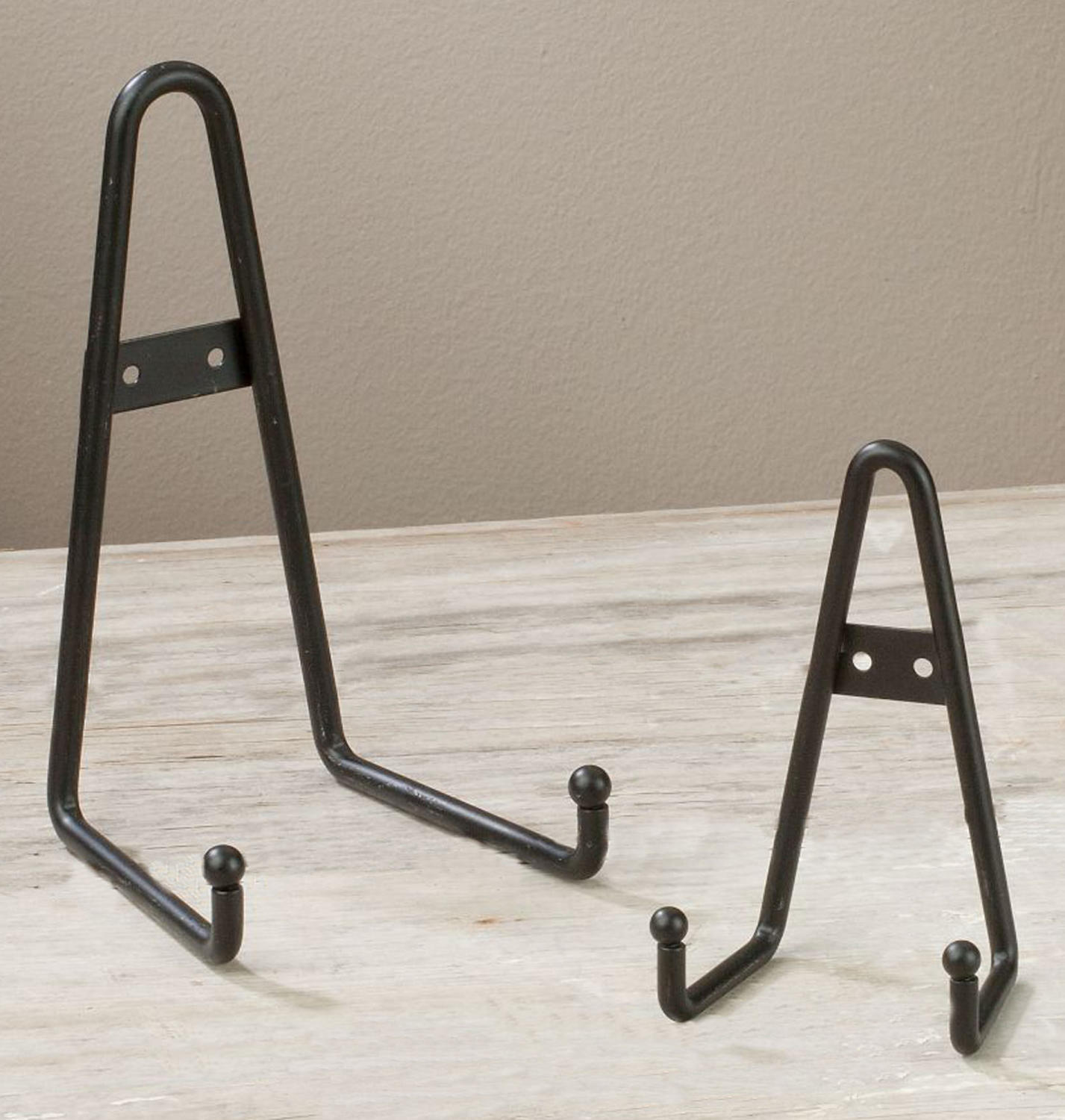 Black Metal Display Racks   (Plate Racks (Wall))