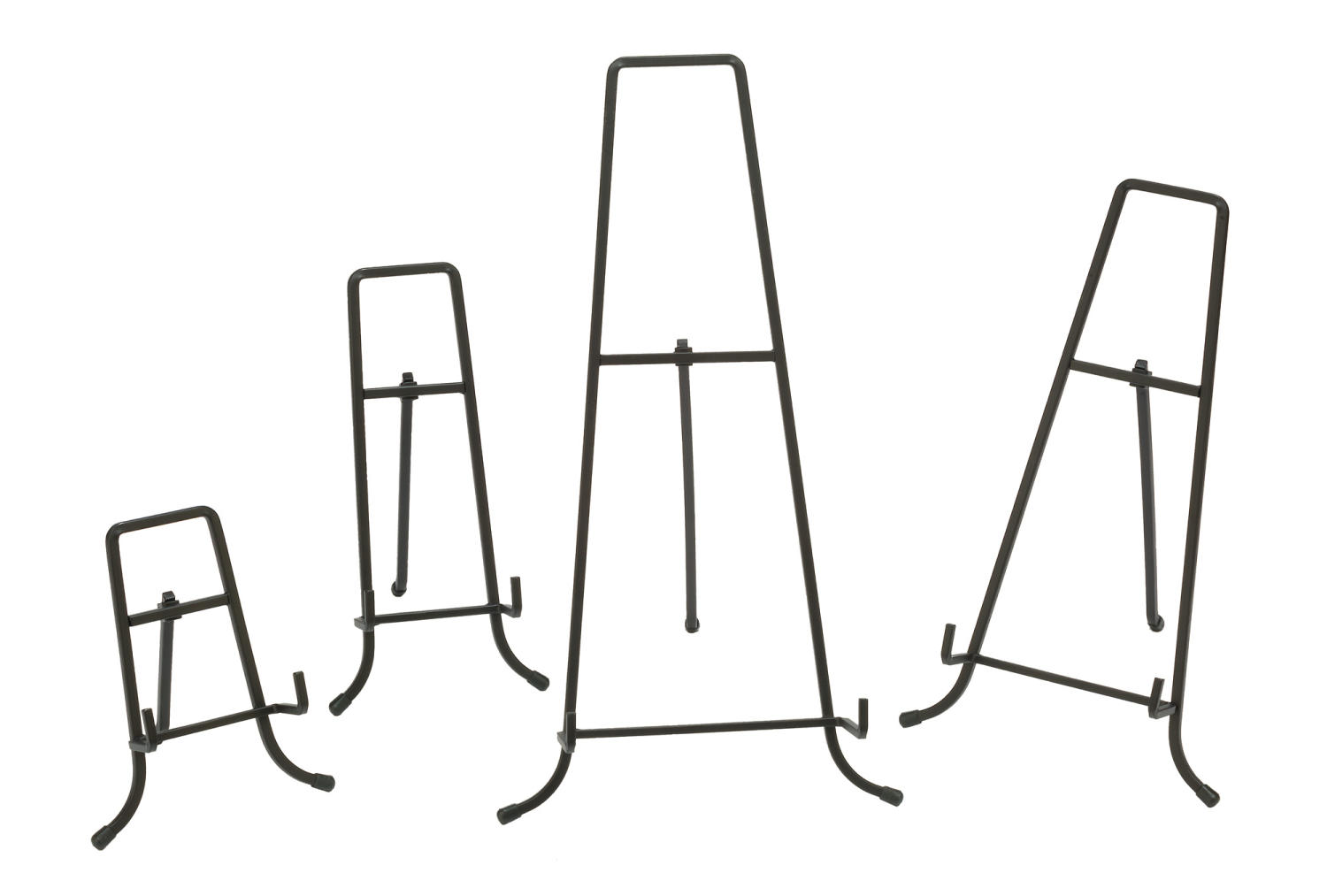 Black Straight Edge Easels   (Easels (Floor))