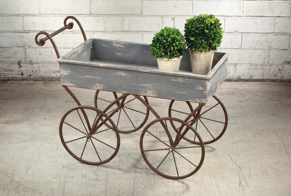 Bluewash Wagon Display   (Tables & Furniture)