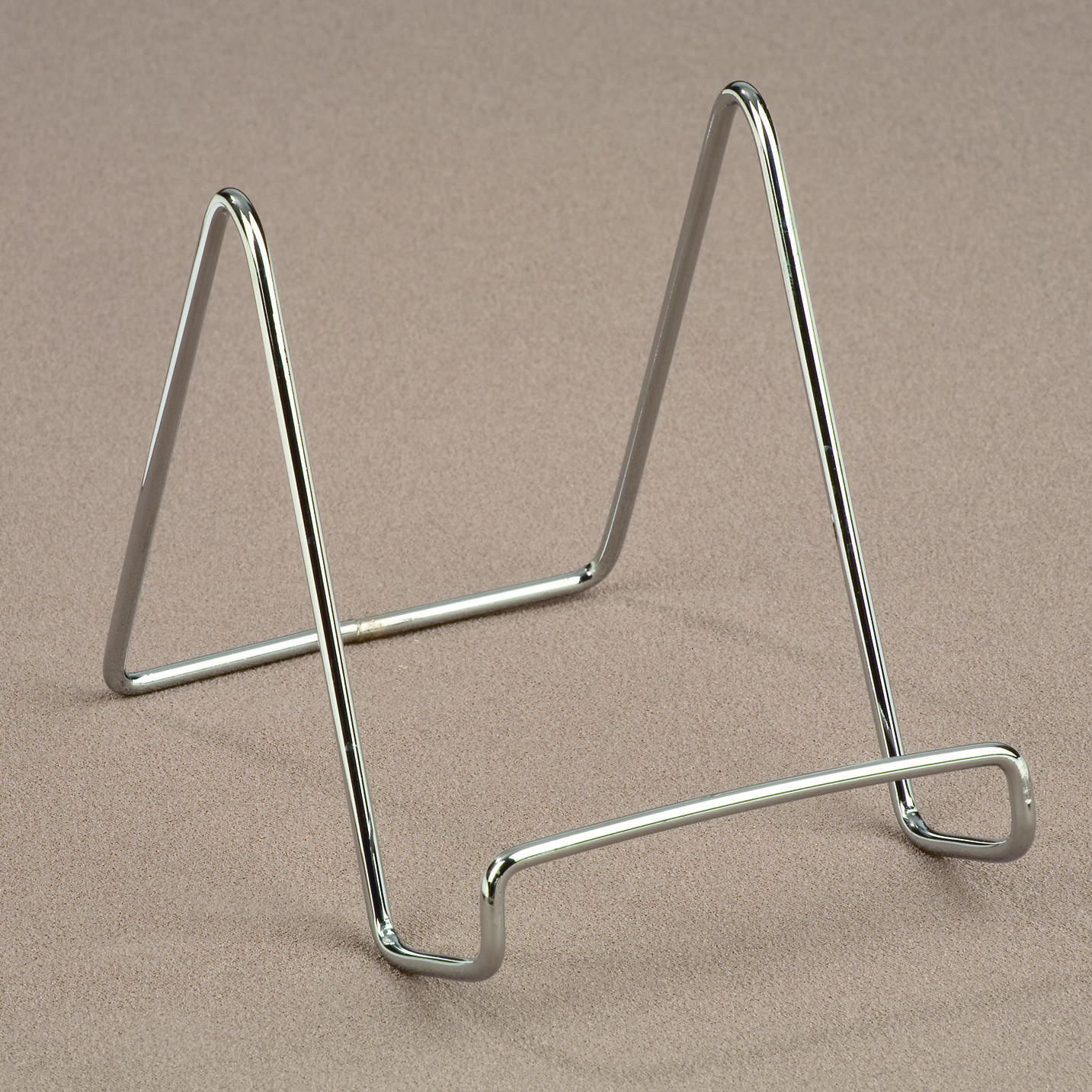 Chrome Smooth Wire Stand  (Easels (Tabletop))