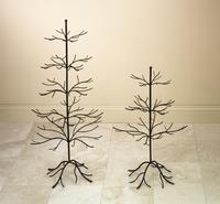 Decorative Trees - Brown Finish (Our Decorative Trees have a natural Dark Brown Finish and can be used all year round. Perfect for display of jewelry and ornaments. Some Assembly Required.)