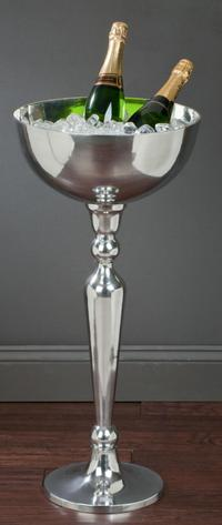 Elevated Aluminum Display Bowl (Wine Accessories)