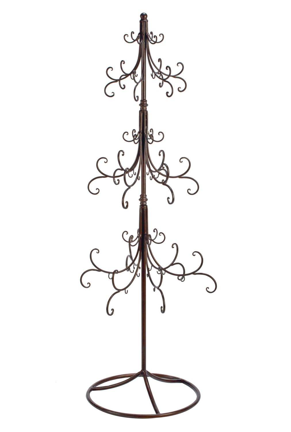Extra Large Scroll Ornament Tree   (Display Trees)