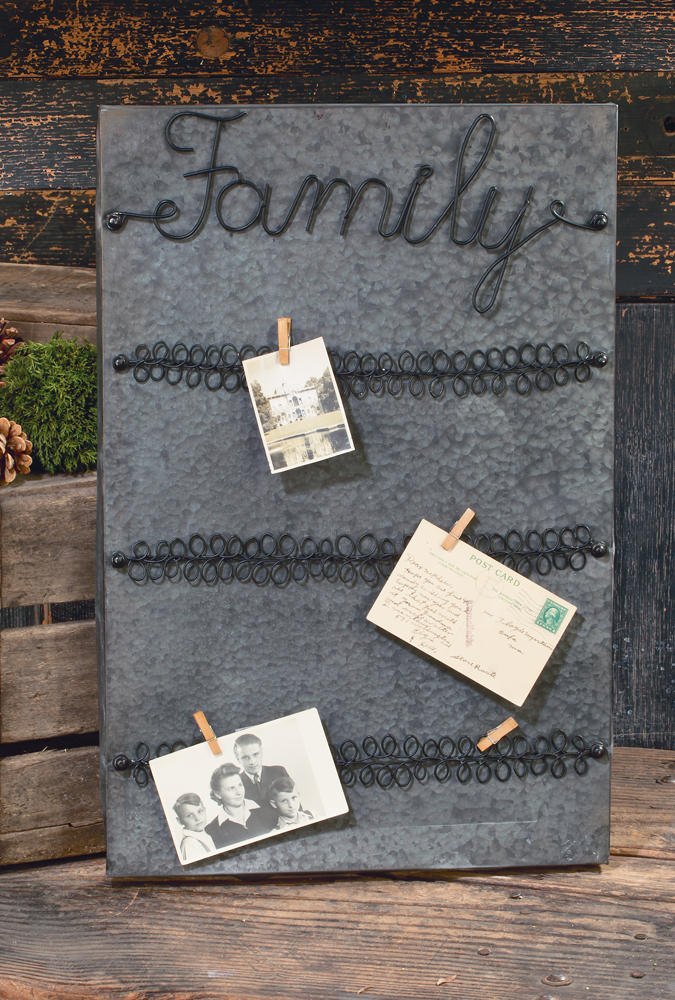 Family Card Display (Wall Decor)