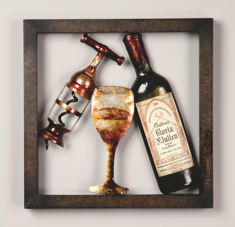 framed wine wall art wall decor