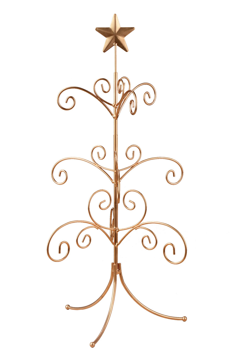 Gold Regent Mini Ornament Tree  (Display Trees)