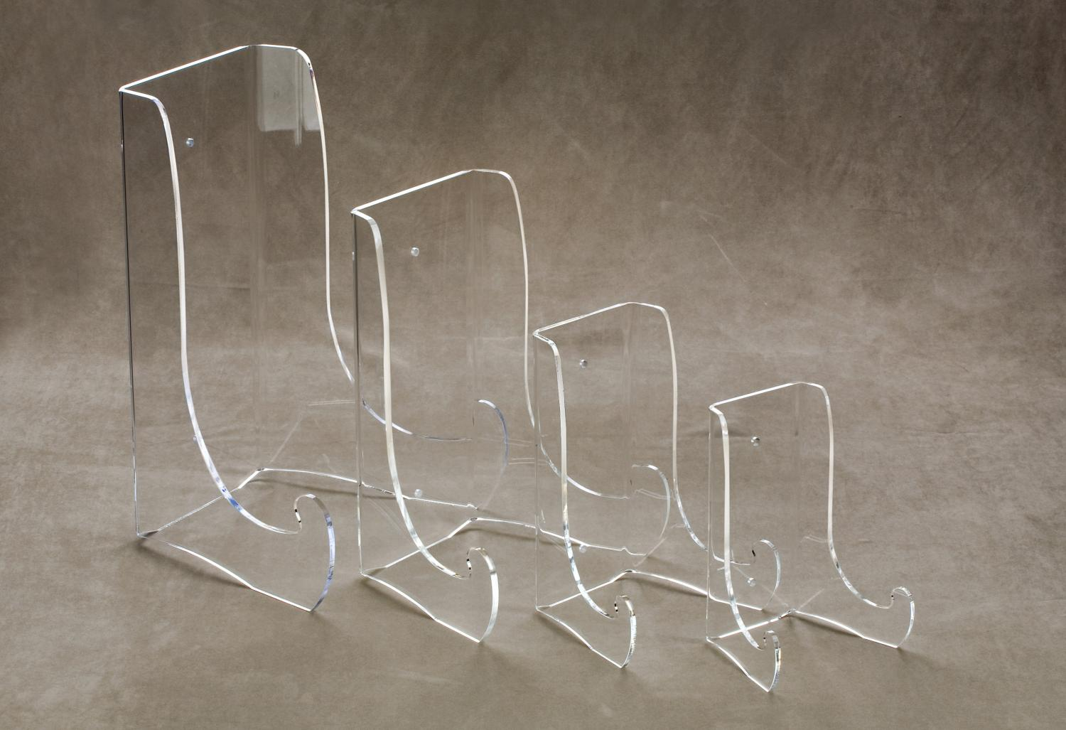 Large Acrylic Bowl Amp Platter Stands Tripar International