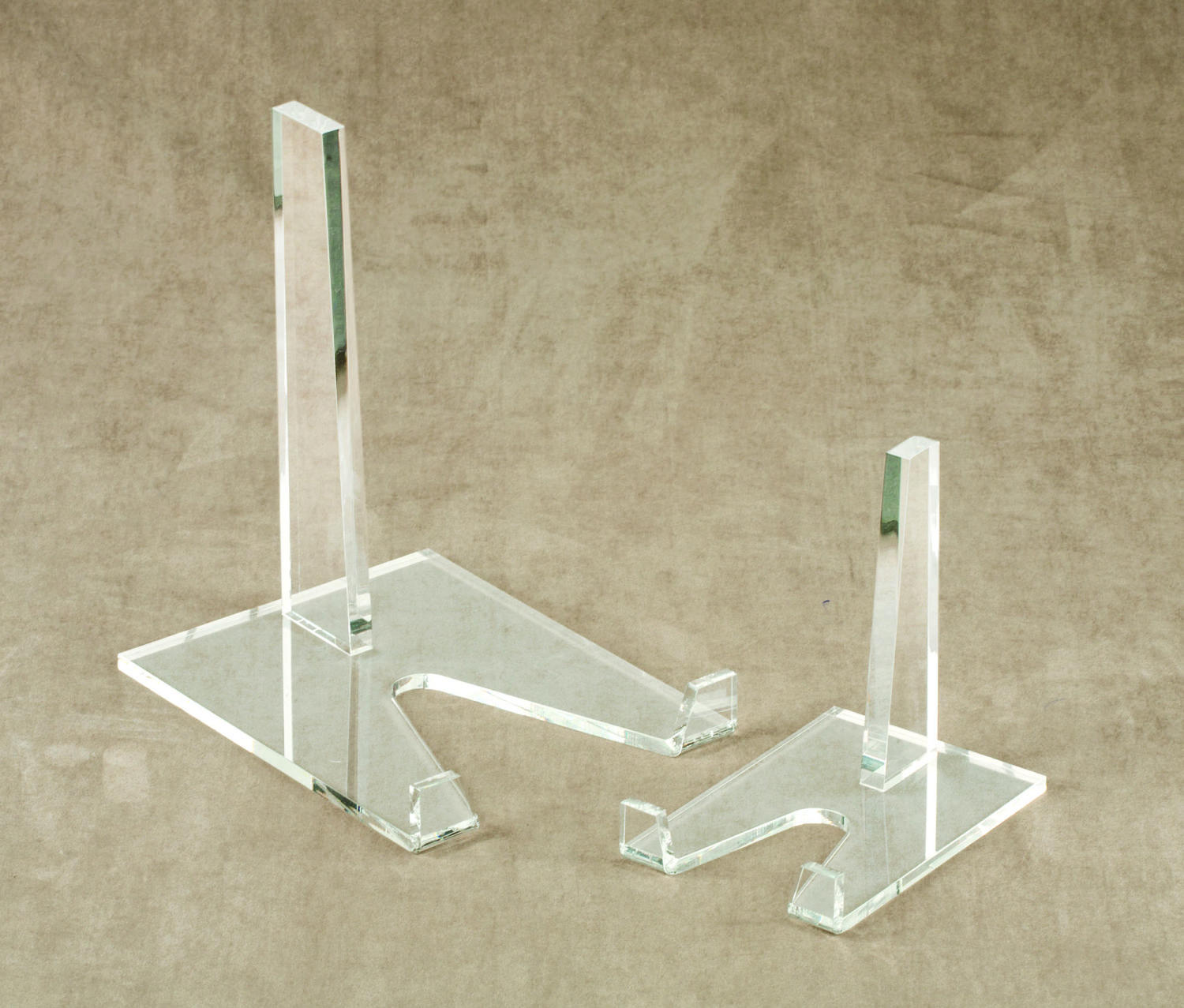 Large Acrylic Display Stands (Plate Stands (Single))