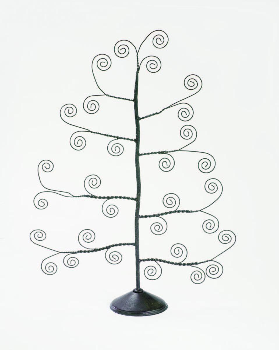 Mahogany Table Top Card Holder Tree (Card Holders U0026 Signs)