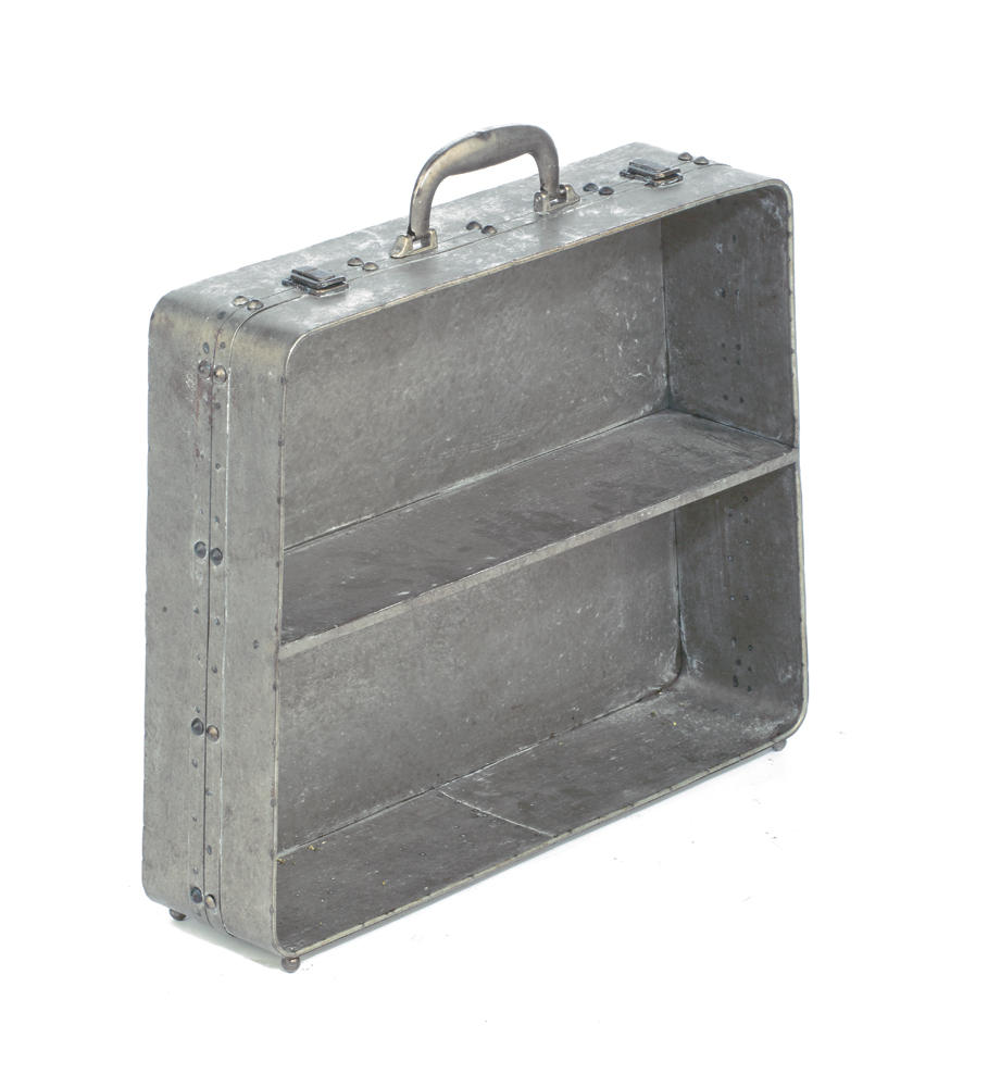 Metal Suitcase Shelf    (Home Accents)