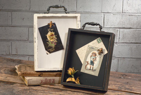 Shabby Chic Drawer Wall Displays