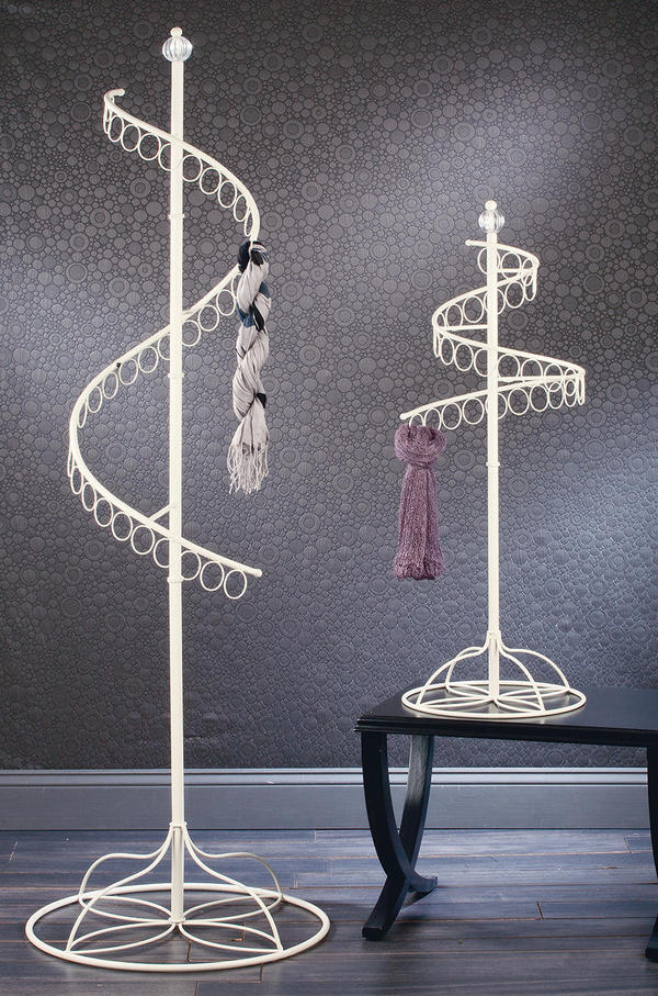 Spinning Scarf Displays