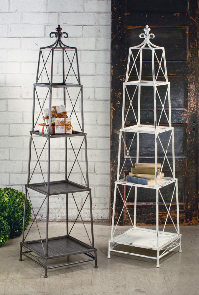 Stackable 4 Tier Obelisk   (Tables & Furniture)