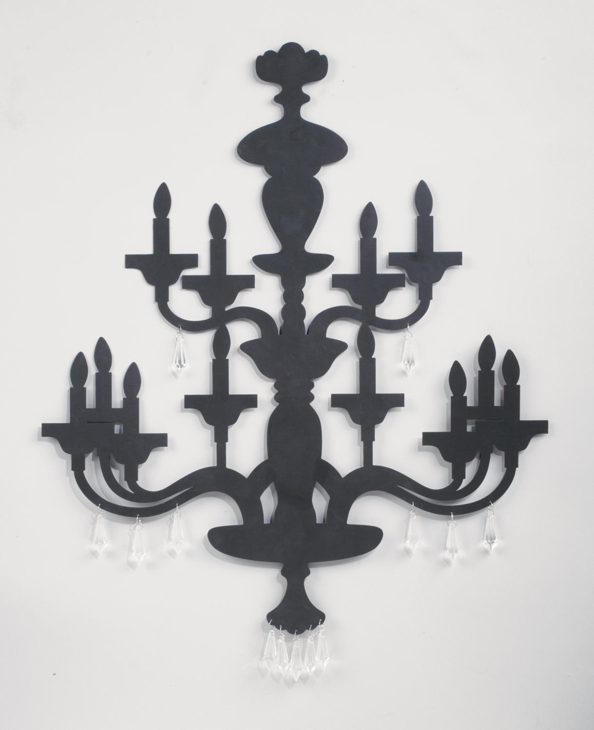 Two-Tier Chandelier Wall Art (Wall Decor)