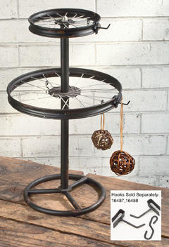 Wheel Display Stand    (Jewelry Displays)