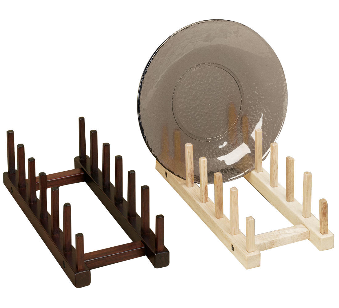Wooden Plate Racks (Point of Purchase)
