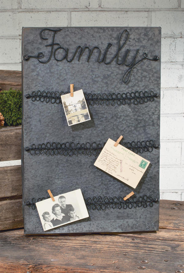 Family Card Display