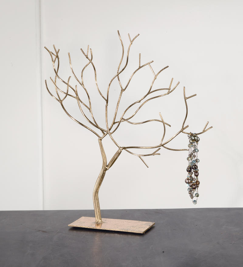 Gold Foil Jewelry Tree