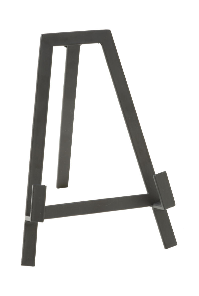 Small Black Tabletop A-Line Metal Easel