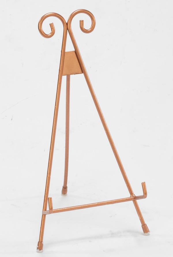 Rose Gold Metal  Easel - Medium