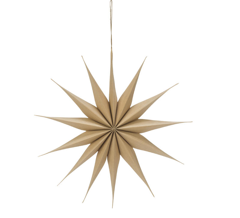 Large Natural Multi-Point Star