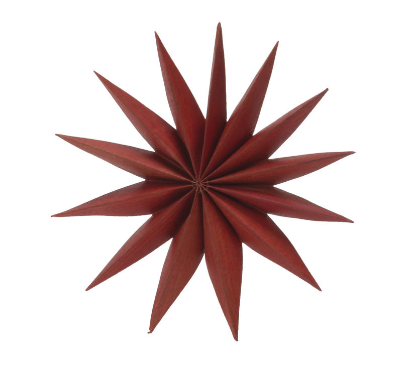 Small Red Multi-Point Star