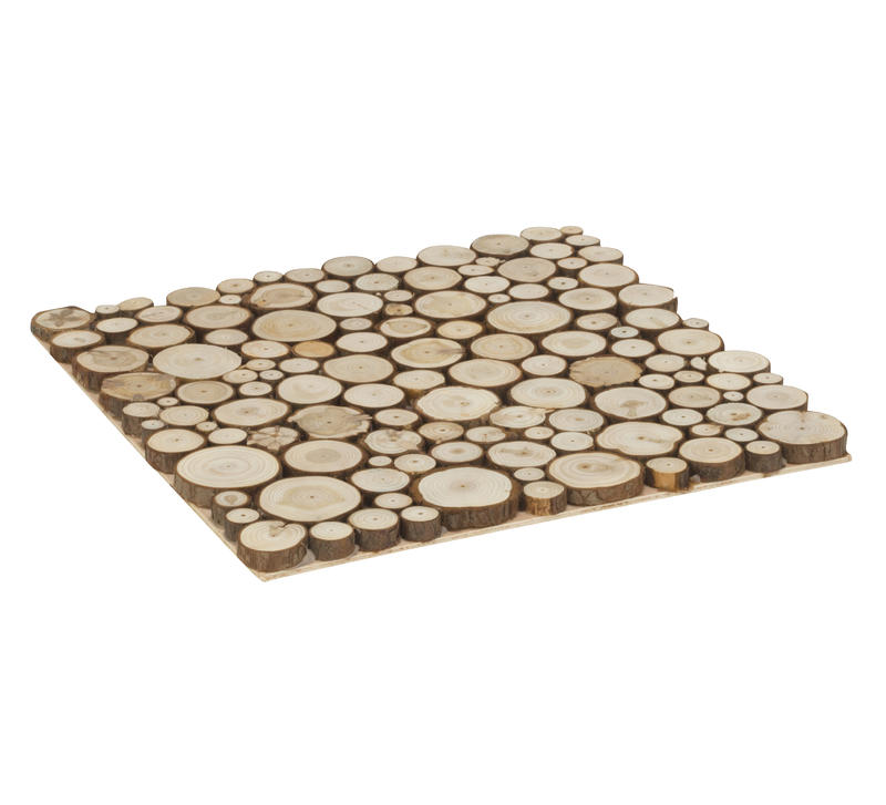 Wood Slice Square Placemat