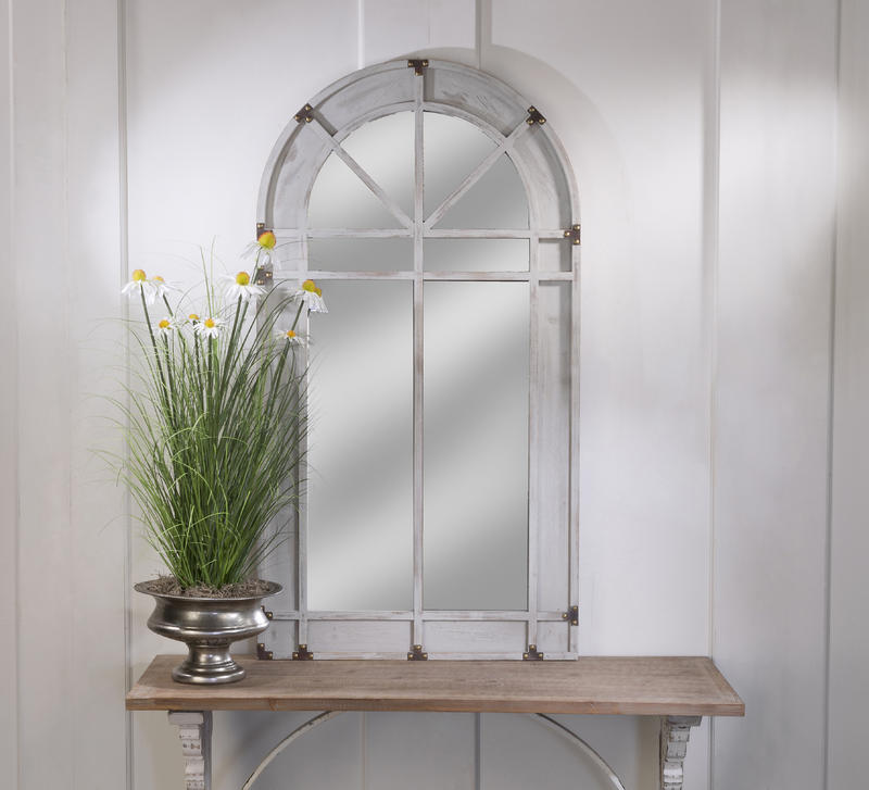 Arch Window Frame Mirror