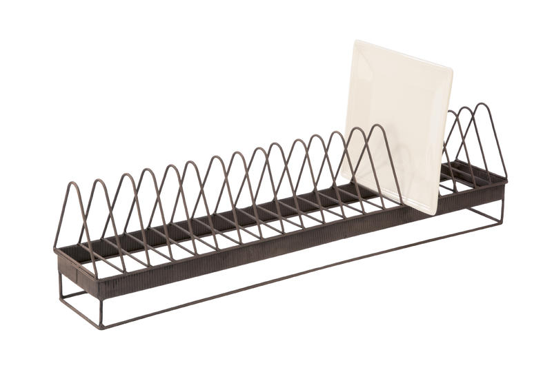 Elongated Plate Display Rack