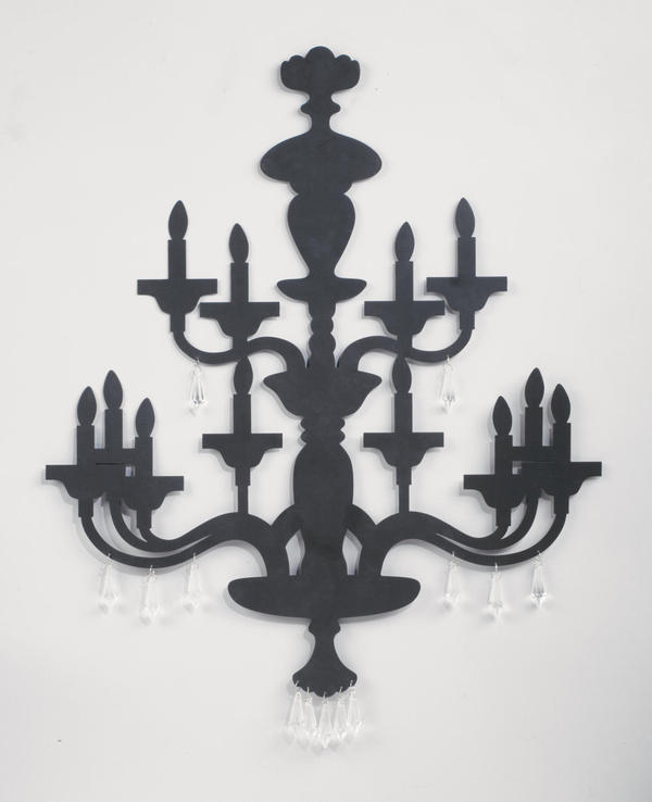 Two-Tier Chandelier Wall Art