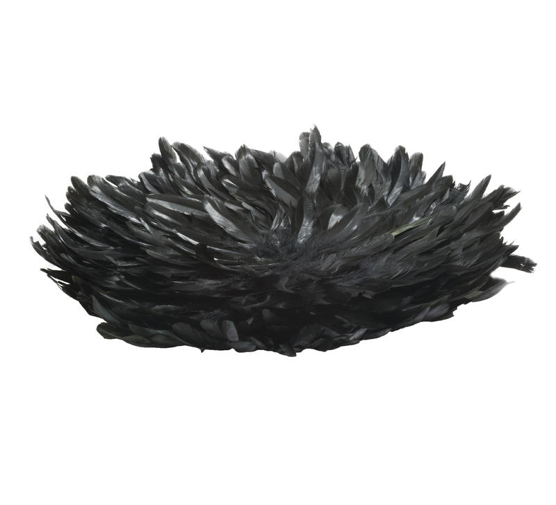 Black Feather Placemat