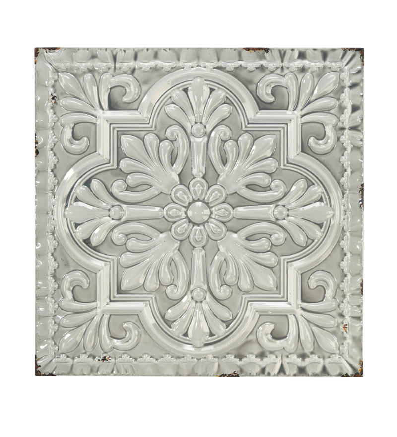 Metal Tile Wall Decor