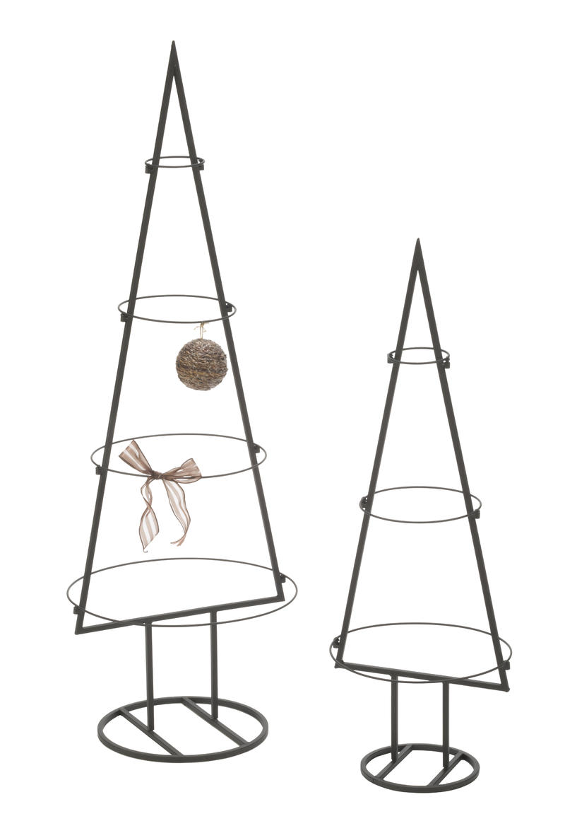 Metal Tabletop Ornament Trees