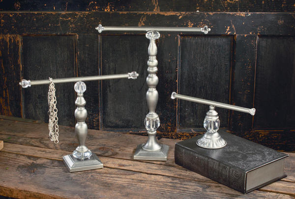 Antique Silver Jewelry Displays